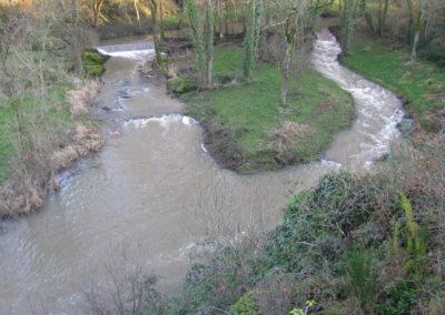 Création d'une rivière de contournement, Le Lys à Montilliers