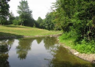 Suppression du clapet et amélioration de la morphologie du Layon à Passavant-sur-Layon