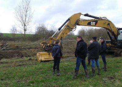 Restauration de la ripisylve sur l'AUBANCE à Charcé-Saint-Ellier-sur-Aubance