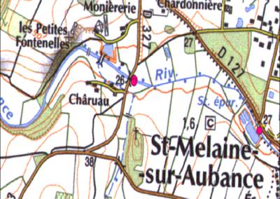 SAINT-MELAINE-SUR-AUBANCE : DES TRAVAUX CONSIDÉRABLES SUR L'AUBANCE